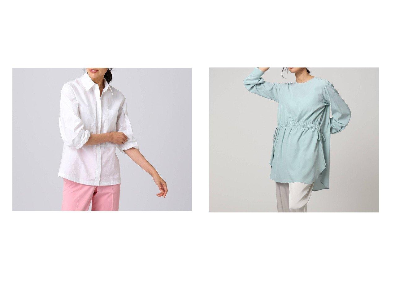 【UNTITLED/アンタイトル】のウォッシュドシルキークロス3WAYブラウス&シモーナコットンシャツ UNTITLEDのおすすめ!人気、トレンド・レディースファッションの通販 おすすめで人気の流行・トレンド、ファッションの通販商品 メンズファッション・キッズファッション・インテリア・家具・レディースファッション・服の通販 founy(ファニー) https://founy.com/ ファッション Fashion レディースファッション WOMEN トップス カットソー Tops Tshirt シャツ/ブラウス Shirts Blouses イタリア インナー 春 Spring スペシャル スリーブ タイプライター バランス フォルム ベビー リブニット 2021年 2021 S/S 春夏 SS Spring/Summer 2021 春夏 S/S SS Spring/Summer 2021 とろみ ウォッシャブル エアリー ストレッチ リボン ヴィンテージ |ID:crp329100000019958