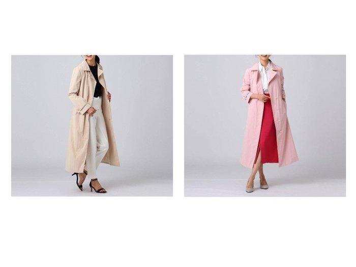 【UNTITLED/アンタイトル】のブルーミングタフタステンカラーコート&ブルーミングタフタステンカラーコート UNTITLEDのおすすめ!人気、トレンド・レディースファッションの通販 おすすめ人気トレンドファッション通販アイテム 人気、トレンドファッション・服の通販 founy(ファニー) ファッション Fashion レディースファッション WOMEN アウター Coat Outerwear コート Coats 春 Spring シンプル ストレート タフタ チェスター フロント ポケット モダン ヨーク 2021年 2021 S/S 春夏 SS Spring/Summer 2021 春夏 S/S SS Spring/Summer 2021  ID:crp329100000019961