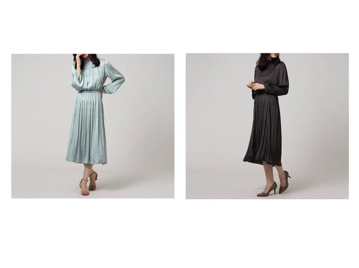 【UNTITLED/アンタイトル】のマジョリカプリーツワンピース UNTITLEDのおすすめ!人気、トレンド・レディースファッションの通販 おすすめファッション通販アイテム インテリア・キッズ・メンズ・レディースファッション・服の通販 founy(ファニー) https://founy.com/ ファッション Fashion レディースファッション WOMEN ワンピース Dress ヴィンテージ 春 Spring ギャザー 今季 サテン ジャケット ダブル ティアード トレンド ドレープ ブラウジング プリーツ ベスト ペチコート ポケット 2021年 2021 S/S 春夏 SS Spring/Summer 2021 春夏 S/S SS Spring/Summer 2021 |ID:crp329100000019964