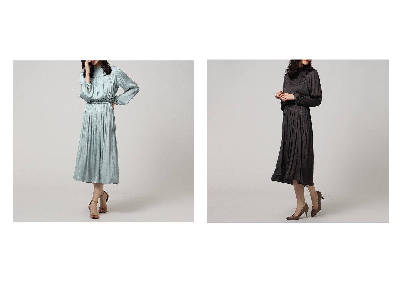 【UNTITLED/アンタイトル】のマジョリカプリーツワンピース UNTITLEDのおすすめ!人気、トレンド・レディースファッションの通販 おすすめで人気の流行・トレンド、ファッションの通販商品 メンズファッション・キッズファッション・インテリア・家具・レディースファッション・服の通販 founy(ファニー) https://founy.com/ ファッション Fashion レディースファッション WOMEN ワンピース Dress ヴィンテージ 春 Spring ギャザー 今季 サテン ジャケット ダブル ティアード トレンド ドレープ ブラウジング プリーツ ベスト ペチコート ポケット 2021年 2021 S/S 春夏 SS Spring/Summer 2021 春夏 S/S SS Spring/Summer 2021 |ID:crp329100000019964