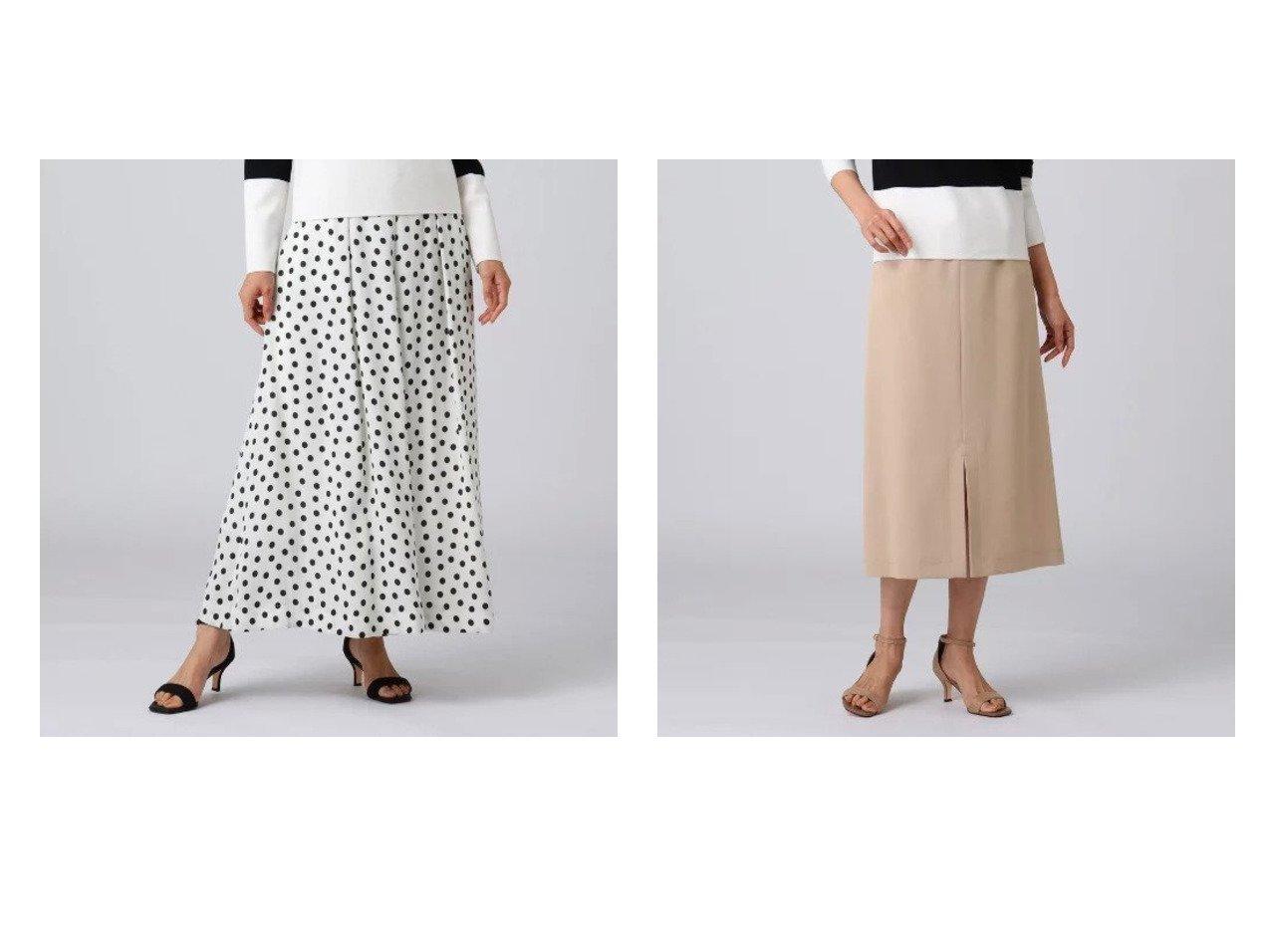 【UNTITLED/アンタイトル】のプランタンバックサテンフレアパンツ&トゥッティーツイルペンシルスカート UNTITLEDのおすすめ!人気、トレンド・レディースファッションの通販 おすすめで人気の流行・トレンド、ファッションの通販商品 メンズファッション・キッズファッション・インテリア・家具・レディースファッション・服の通販 founy(ファニー) https://founy.com/ ファッション Fashion レディースファッション WOMEN パンツ Pants バッグ Bag スカート Skirt インナー サテン ドット フレア プリント ポケット マキシ モチーフ リボン スリット センター ツイル パウダー ペンシル 春 Spring |ID:crp329100000019965