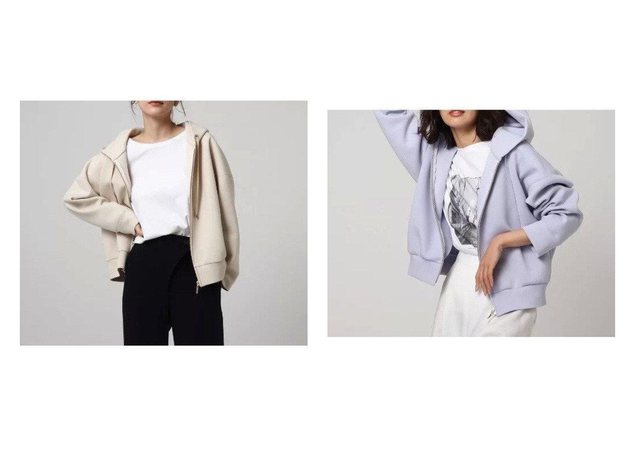 【UNTITLED/アンタイトル】の【洗える】エアクッションジャージパーカー UNTITLEDのおすすめ!人気、トレンド・レディースファッションの通販 おすすめで人気の流行・トレンド、ファッションの通販商品 メンズファッション・キッズファッション・インテリア・家具・レディースファッション・服の通販 founy(ファニー) https://founy.com/ ファッション Fashion レディースファッション WOMEN トップス カットソー Tops Tshirt パーカ Sweats スウェット Sweat インナー クッション スウェット パーカー ボトム ポケット 洗える |ID:crp329100000019966