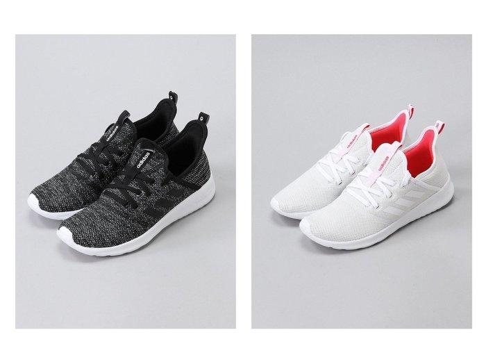 【adidas/アディダス】のadidas(CLOUDFOAMPURE) adidasのおすすめ!人気、トレンド・レディースファッションの通販 おすすめファッション通販アイテム レディースファッション・服の通販 founy(ファニー) ファッション Fashion レディースファッション WOMEN シューズ ストレッチ スニーカー スリッポン メッシュ |ID:crp329100000020005
