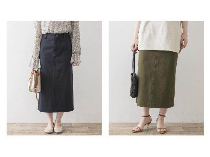 【URBAN RESEARCH ROSSO/アーバンリサーチ ロッソ】のF by ROSSO ストレッチチノスカート URBAN RESEARCHのおすすめ!人気、トレンド・レディースファッションの通販 おすすめファッション通販アイテム レディースファッション・服の通販 founy(ファニー) ファッション Fashion レディースファッション WOMEN スカート Skirt NEW・新作・新着・新入荷 New Arrivals シンプル ストレッチ トレンド 台形 |ID:crp329100000020050