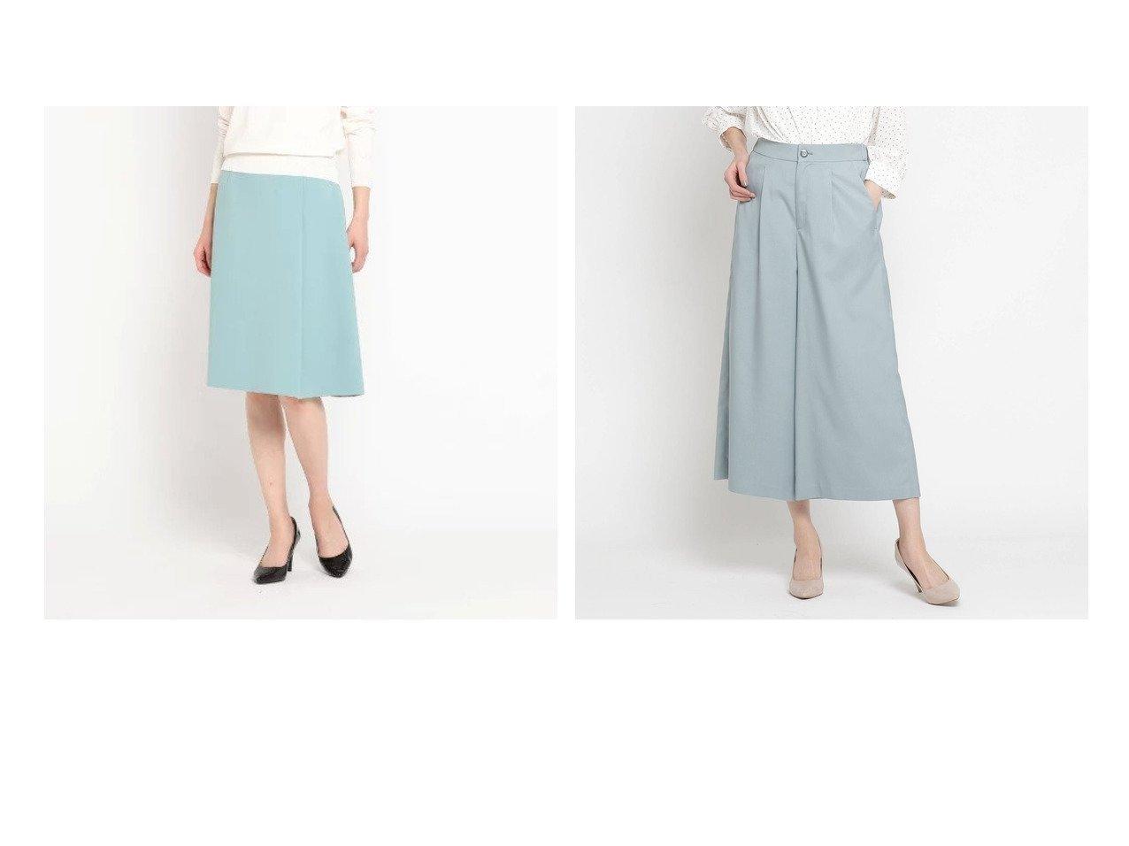 【SunaUna/スーナウーナ】のシーシャインストレッチクロップドパンツ&コンパクトダブルクロススカート SunaUnaのおすすめ!人気、トレンド・レディースファッションの通販 おすすめで人気の流行・トレンド、ファッションの通販商品 メンズファッション・キッズファッション・インテリア・家具・レディースファッション・服の通販 founy(ファニー) https://founy.com/ ファッション Fashion レディースファッション WOMEN スカート Skirt パンツ Pants ポケット ラップ 春 Spring |ID:crp329100000020102