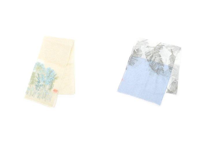【SunaUna/スーナウーナ】のガーデン刺繍ストール&リーフプリントストール SunaUnaのおすすめ!人気、トレンド・レディースファッションの通販 おすすめファッション通販アイテム インテリア・キッズ・メンズ・レディースファッション・服の通販 founy(ファニー) https://founy.com/ ファッション Fashion レディースファッション WOMEN 2021年 2021 2021 春夏 S/S SS Spring/Summer 2021 S/S 春夏 SS Spring/Summer イエロー オーガンジー ガーデン ストール ボタニカル 春 Spring  ID:crp329100000020107