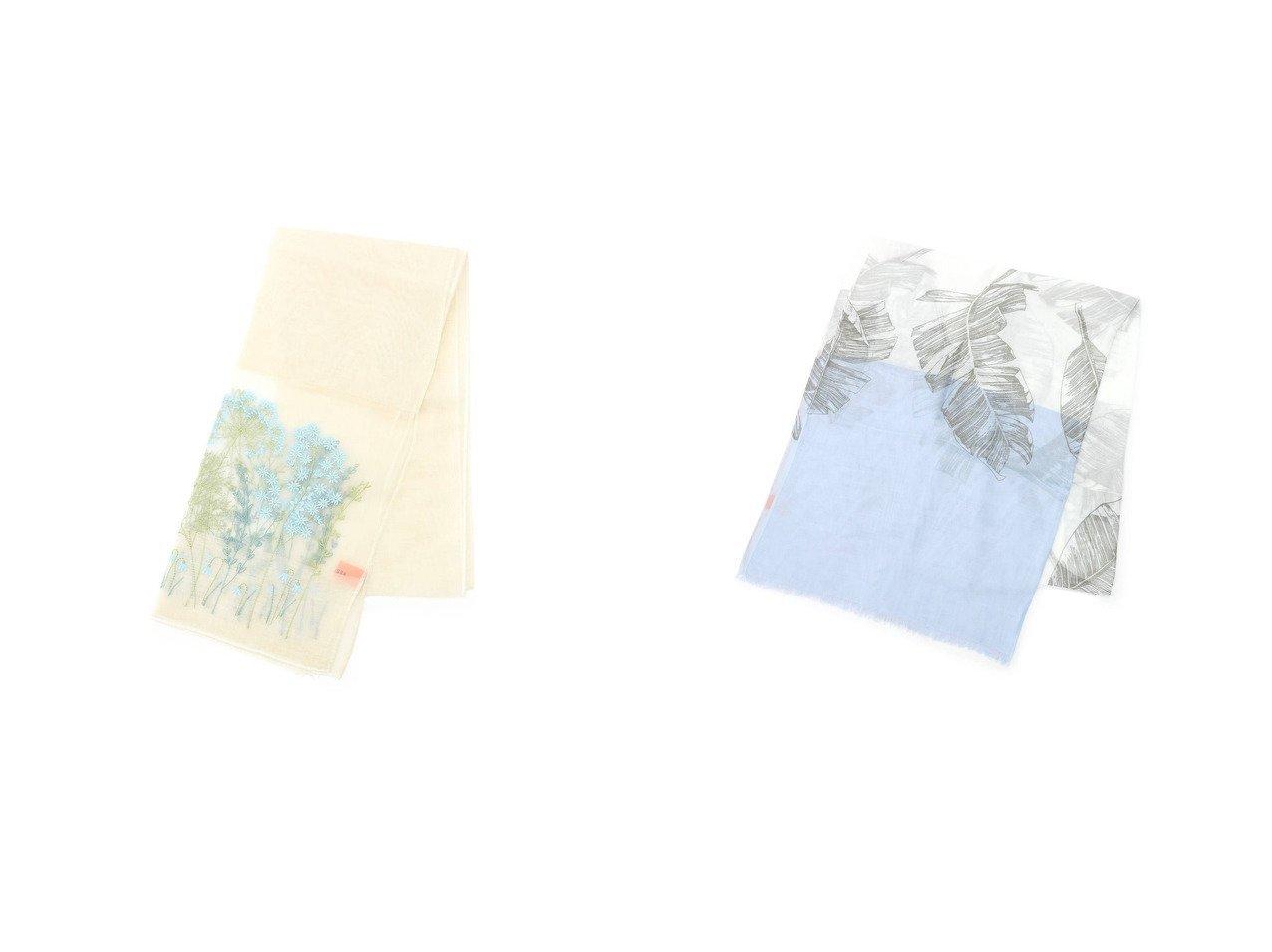 【SunaUna/スーナウーナ】のガーデン刺繍ストール&リーフプリントストール SunaUnaのおすすめ!人気、トレンド・レディースファッションの通販 おすすめで人気の流行・トレンド、ファッションの通販商品 メンズファッション・キッズファッション・インテリア・家具・レディースファッション・服の通販 founy(ファニー) https://founy.com/ ファッション Fashion レディースファッション WOMEN 2021年 2021 2021 春夏 S/S SS Spring/Summer 2021 S/S 春夏 SS Spring/Summer イエロー オーガンジー ガーデン ストール ボタニカル 春 Spring |ID:crp329100000020107