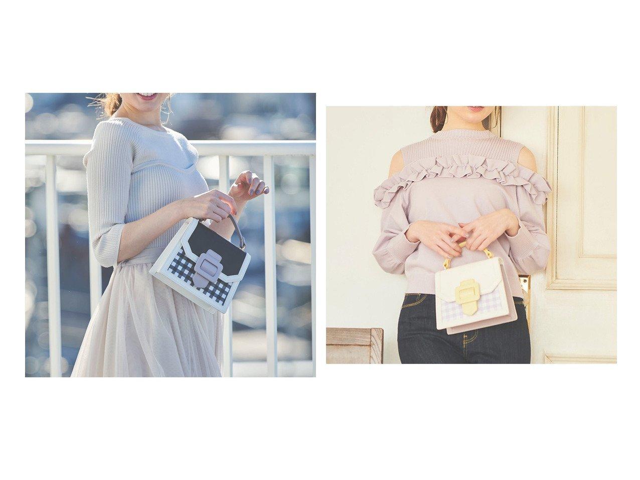 【31 Sons de mode/トランテアン ソン ドゥ モード】のカラーブロックミニショルダーバッグ 31 Sons de modeのおすすめ!人気、トレンド・レディースファッションの通販 おすすめで人気の流行・トレンド、ファッションの通販商品 メンズファッション・キッズファッション・インテリア・家具・レディースファッション・服の通販 founy(ファニー) https://founy.com/ ファッション Fashion レディースファッション WOMEN バッグ Bag NEW・新作・新着・新入荷 New Arrivals 2021年 2021 2021 春夏 S/S SS Spring/Summer 2021 S/S 春夏 SS Spring/Summer ギンガム ハンドバッグ |ID:crp329100000020122