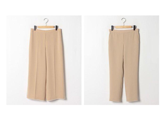 【theory/セオリー】のパンツ CLASSIC CREPE TREECA PULL&パンツ CLASSIC CREPE WIDE PULL O theoryのおすすめ!人気、トレンド・レディースファッションの通販 おすすめファッション通販アイテム レディースファッション・服の通販 founy(ファニー) ファッション Fashion レディースファッション WOMEN パンツ Pants スタイリッシュ トレンド パイピング ロング スタンダード ファブリック フラット フロント 吸水 |ID:crp329100000020128
