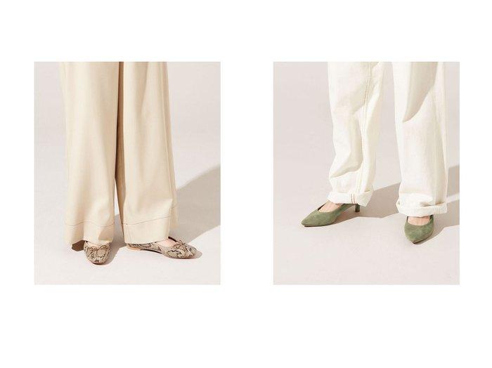 【nano universe/ナノ ユニバース】のリボンバレエシューズ&5センチヒールパンプス nano universeのおすすめ!人気、トレンド・レディースファッションの通販 おすすめファッション通販アイテム インテリア・キッズ・メンズ・レディースファッション・服の通販 founy(ファニー) https://founy.com/ ファッション Fashion レディースファッション WOMEN 2021年 2021 2021 春夏 S/S SS Spring/Summer 2021 S/S 春夏 SS Spring/Summer インソール オケージョン クッション クラシカル シューズ バレエ フラット リボン 春 Spring |ID:crp329100000020136