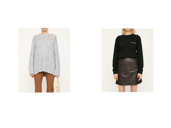 【SLY/スライ】のFLUFF COTTON MG トップスWHT1&BREATH PHOTO Tシャツ SLYのおすすめ!人気、トレンド・レディースファッションの通販  おすすめファッション通販アイテム レディースファッション・服の通販 founy(ファニー) ファッション Fashion レディースファッション WOMEN トップス カットソー Tops Tshirt シャツ/ブラウス Shirts Blouses ロング / Tシャツ T-Shirts 2021年 2021 2021 春夏 S/S SS Spring/Summer 2021 S/S 春夏 SS Spring/Summer クラッシュ トレンド フロント 春 Spring |ID:crp329100000020151
