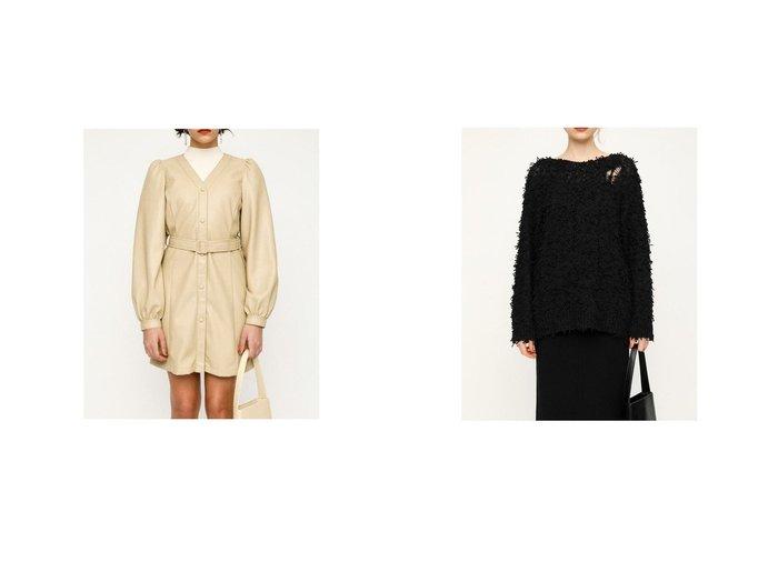 【SLY/スライ】のPUFF SLEEVE ショートワンピース&FLUFF COTTON MG トップス SLYのおすすめ!人気、トレンド・レディースファッションの通販  おすすめファッション通販アイテム レディースファッション・服の通販 founy(ファニー) ファッション Fashion レディースファッション WOMEN ワンピース Dress トップス カットソー Tops Tshirt 2020年 2020 2020-2021 秋冬 A/W AW Autumn/Winter / FW Fall-Winter 2020-2021 A/W 秋冬 AW Autumn/Winter / FW Fall-Winter ショート フェイクレザー 2021年 2021 2021 春夏 S/S SS Spring/Summer 2021 S/S 春夏 SS Spring/Summer クラッシュ トレンド フロント 春 Spring |ID:crp329100000020153