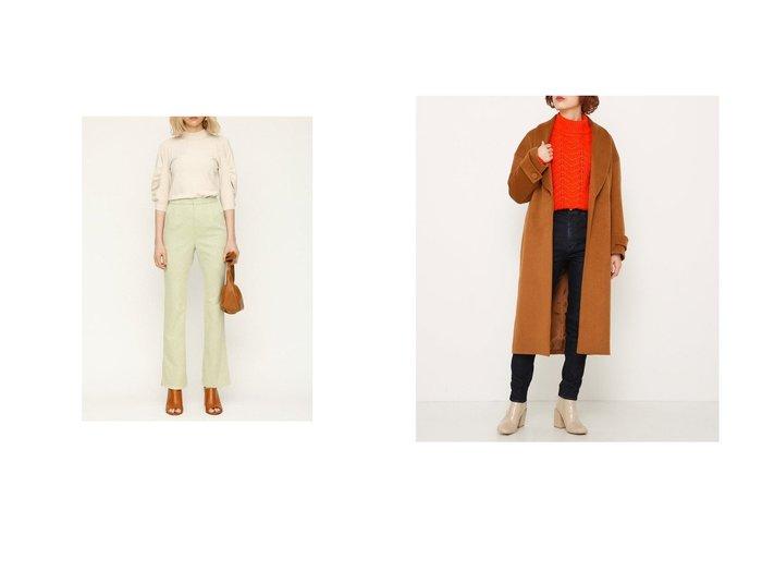 【SLY/スライ】の2WAY BELT SHAWL CAM&SUEDE LIKE SLIM FLARE パンツ SLYのおすすめ!人気、トレンド・レディースファッションの通販  おすすめファッション通販アイテム レディースファッション・服の通販 founy(ファニー) ファッション Fashion レディースファッション WOMEN パンツ Pants 2021年 2021 2021 春夏 S/S SS Spring/Summer 2021 S/S 春夏 SS Spring/Summer スエード ストレッチ フィット フレア 春 Spring  ID:crp329100000020156
