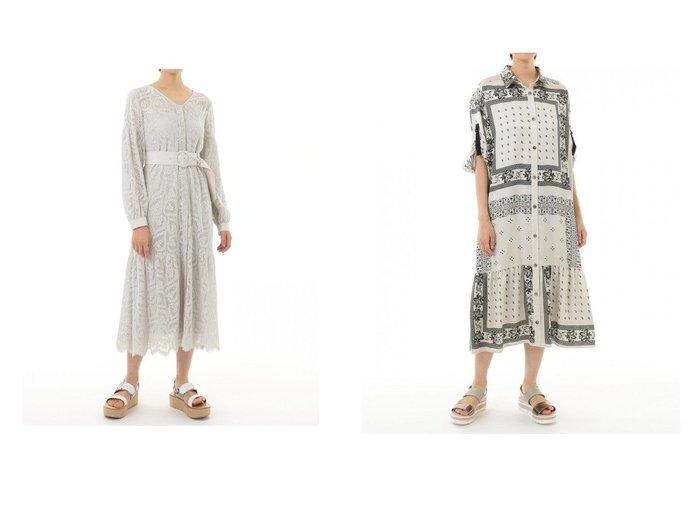 【GRACE CONTINENTAL/グレース コンチネンタル】のバンダナコンビプリントワンピース&ハートコードレースドレス GRACE CONTINENTALのおすすめ!人気、トレンド・レディースファッションの通販  おすすめファッション通販アイテム レディースファッション・服の通販 founy(ファニー) ファッション Fashion レディースファッション WOMEN ワンピース Dress ドレス Party Dresses NEW・新作・新着・新入荷 New Arrivals S/S 春夏 SS Spring/Summer インナー キャミソール ティアード ミックス 春 Spring |ID:crp329100000020159
