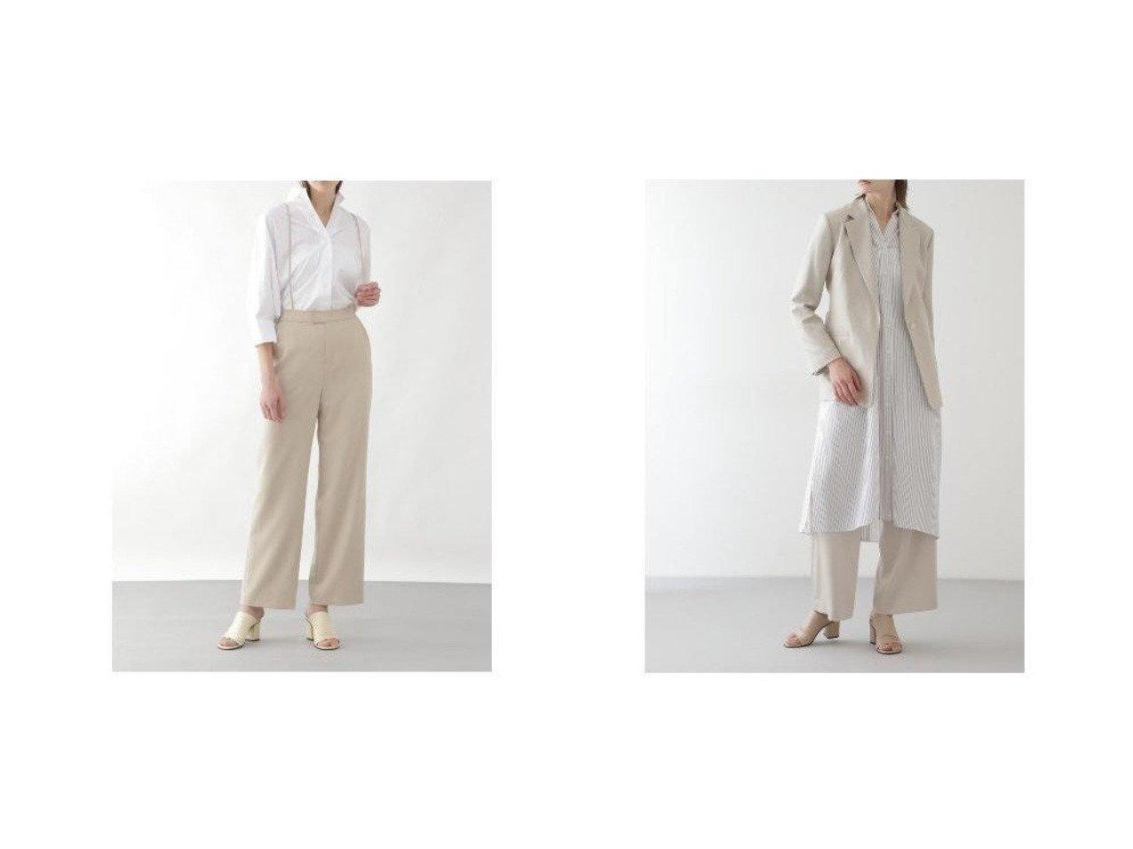 【BOSCH/ボッシュ】のハンマーサテンタックパンツ&VISPOLYNOトロピカルセットパンツ BOSCHのおすすめ!人気、トレンド・レディースファッションの通販  おすすめで人気の流行・トレンド、ファッションの通販商品 メンズファッション・キッズファッション・インテリア・家具・レディースファッション・服の通販 founy(ファニー) https://founy.com/ ファッション Fashion レディースファッション WOMEN パンツ Pants サスペンダー スタンダード ストレート セットアップ ギャザー サテン ドレープ フロント ポケット モダン リラックス ワイド |ID:crp329100000020177