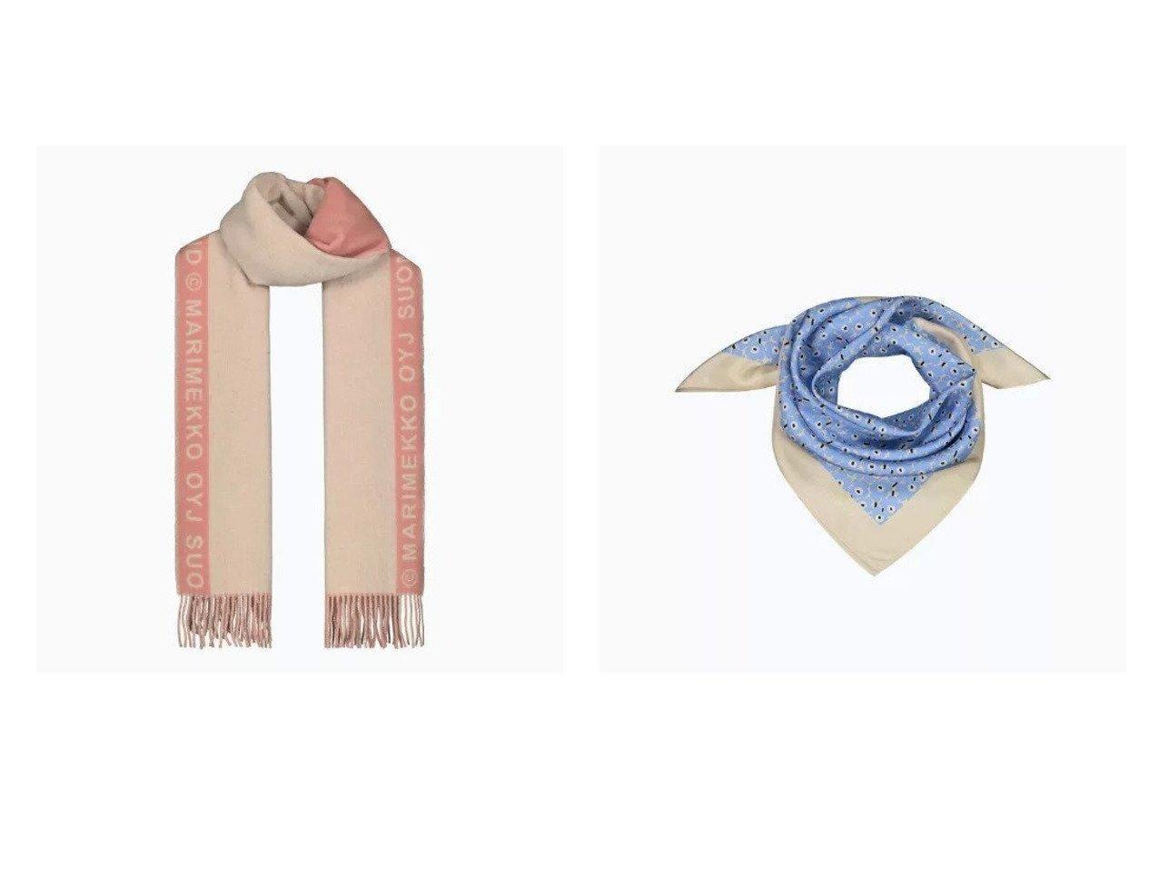 【marimekko/マリメッコ】のSiime スカーフ&Unikko スカーフ marimekkoのおすすめ!人気、トレンド・レディースファッションの通販  おすすめで人気の流行・トレンド、ファッションの通販商品 メンズファッション・キッズファッション・インテリア・家具・レディースファッション・服の通販 founy(ファニー) https://founy.com/ ファッション Fashion レディースファッション WOMEN ストール Scarves マフラー Mufflers スカーフ ストール フェミニン マフラー シルク モチーフ リュクス |ID:crp329100000020180