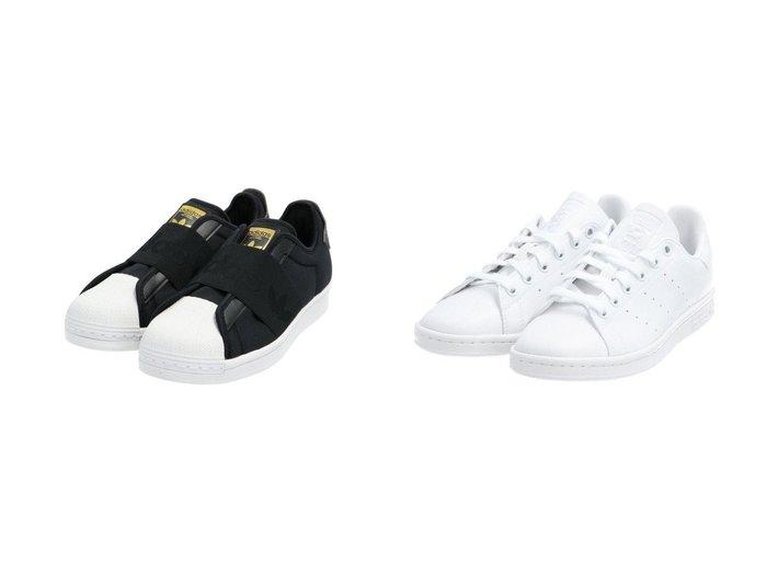 【adidas Originals/アディダス オリジナルス】のスタンスミス STAN SMITH アディダスオリジナルス&SS スリッポン SST SLIP ON アディダスオリジナルス adidasのおすすめ!人気、トレンド・レディースファッションの通販  おすすめファッション通販アイテム インテリア・キッズ・メンズ・レディースファッション・服の通販 founy(ファニー) https://founy.com/ ファッション Fashion レディースファッション WOMEN S/S 春夏 SS Spring/Summer シューズ スタイリッシュ スニーカー スリッポン 再入荷 Restock/Back in Stock/Re Arrival 定番 Standard クラシック フィット レギュラー |ID:crp329100000020207