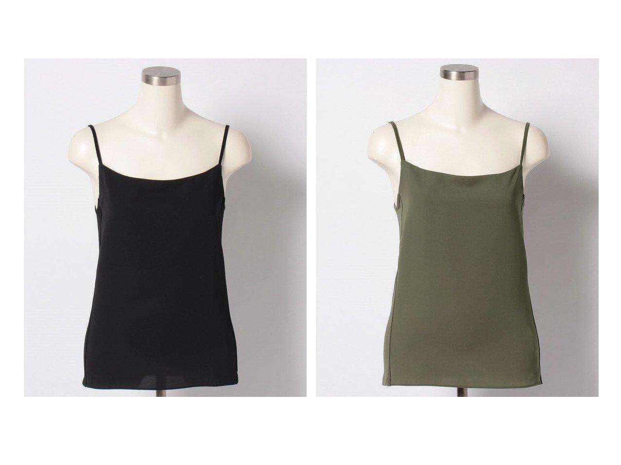 【ANAYI/アナイ】のベアテンツイルコンビキャミソール ANAYIのおすすめ!人気、トレンド・レディースファッションの通販  おすすめで人気の流行・トレンド、ファッションの通販商品 メンズファッション・キッズファッション・インテリア・家具・レディースファッション・服の通販 founy(ファニー) https://founy.com/ ファッション Fashion レディースファッション WOMEN トップス カットソー Tops Tshirt キャミソール / ノースリーブ No Sleeves シャツ/ブラウス Shirts Blouses ロング / Tシャツ T-Shirts カットソー Cut and Sewn インナー エアリー キャミソール ストレッチ |ID:crp329100000020270