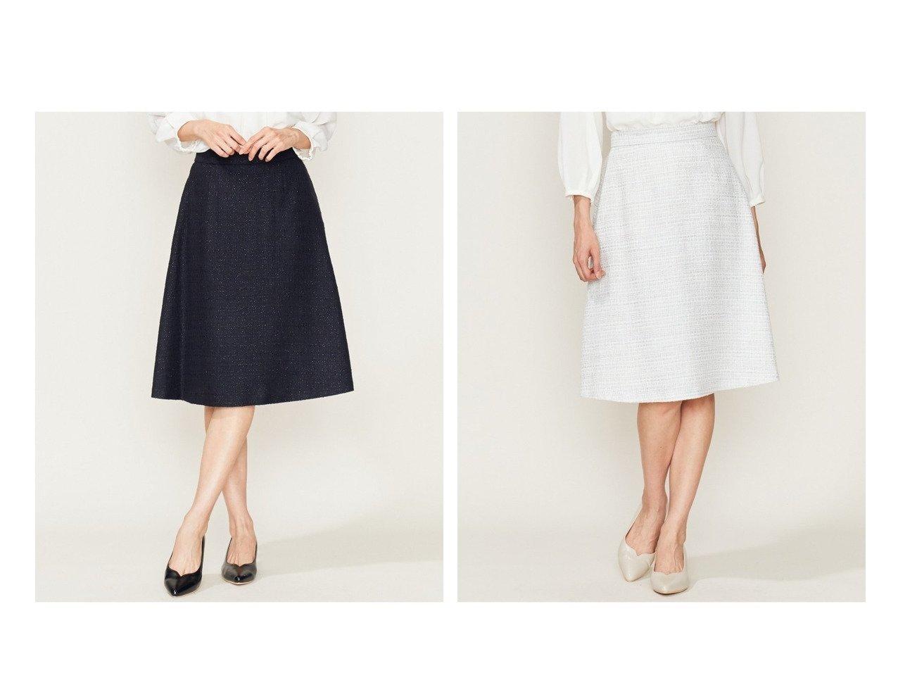 【KUMIKYOKU/組曲】の【セットアップ対応】ラメループモールツイードスカート 組曲のおすすめ!人気、トレンド・レディースファッションの通販 おすすめで人気の流行・トレンド、ファッションの通販商品 メンズファッション・キッズファッション・インテリア・家具・レディースファッション・服の通販 founy(ファニー) https://founy.com/ ファッション Fashion レディースファッション WOMEN セットアップ Setup スカート Skirt カーディガン ジャケット セットアップ ツイード フォーマル フレア ベーシック ループ  ID:crp329100000020329