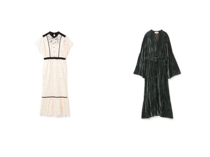 【LOKITHO/ロキト】のS DRESS&WASHED VELET GOWN DRESS LOKITHOのおすすめ!人気、トレンド・レディースファッションの通販 おすすめファッション通販アイテム レディースファッション・服の通販 founy(ファニー) ファッション Fashion レディースファッション WOMEN ワンピース Dress ドレス Party Dresses 2021年 2021 2021 春夏 S/S SS Spring/Summer 2021 S/S 春夏 SS Spring/Summer クラシック ドレス フォーマル レース 半袖 ガウン ギャザー クラシカル フレア ベルベット 長袖 |ID:crp329100000020367