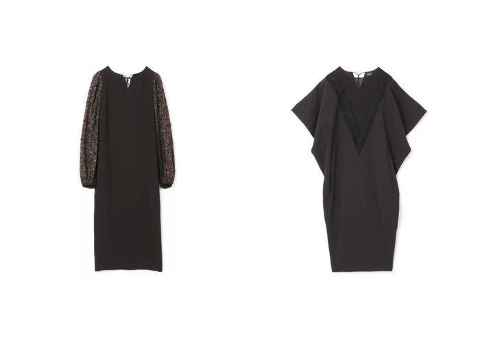 【LOKITHO/ロキト】のLACED V-NECK DRESS&FLOWER EMBROIDRED OP LOKITHOのおすすめ!人気、トレンド・レディースファッションの通販 おすすめファッション通販アイテム レディースファッション・服の通販 founy(ファニー) ファッション Fashion レディースファッション WOMEN ワンピース Dress ドレス Party Dresses 2021年 2021 2021 春夏 S/S SS Spring/Summer 2021 S/S 春夏 SS Spring/Summer シンプル デコルテ ドレス フェミニン フォーマル フラワー 長袖 シアー ドレープ フォルム フレア モダン レース 半袖 |ID:crp329100000020368