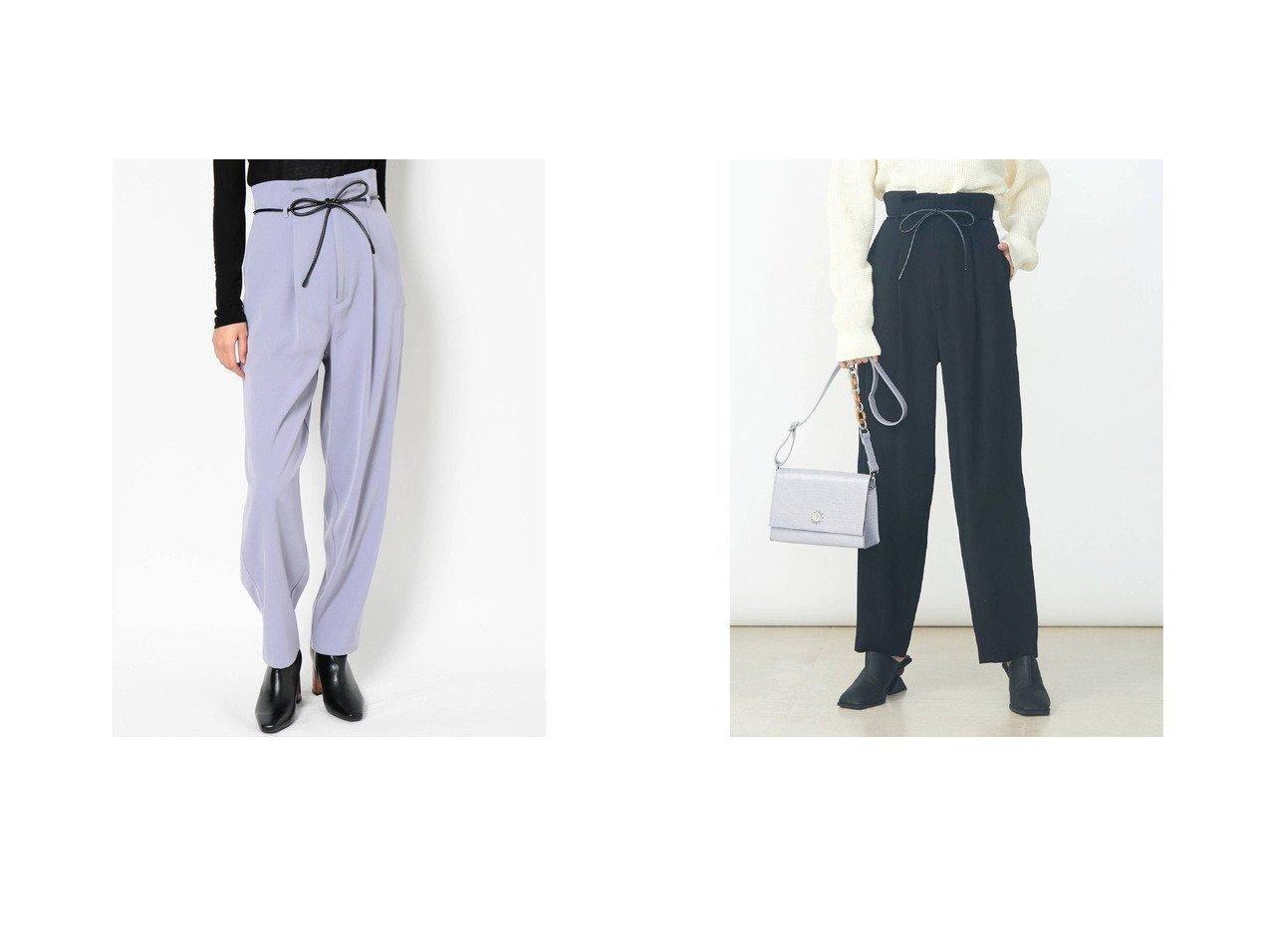 【EVRIS/エヴリス】のEVRIS レザーベルトパンツ パンツのおすすめ!人気トレンド・レディースファッションの通販 おすすめで人気の流行・トレンド、ファッションの通販商品 メンズファッション・キッズファッション・インテリア・家具・レディースファッション・服の通販 founy(ファニー) https://founy.com/ ファッション Fashion レディースファッション WOMEN パンツ Pants ベルト Belts 2021年 2021 2021 春夏 S/S SS Spring/Summer 2021 S/S 春夏 SS Spring/Summer ランダム 春 Spring |ID:crp329100000020414