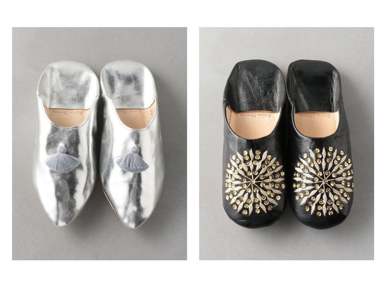 【Odette e Odile/オデット エ オディール】の【別注】Fatima Morocco バブーシュP&【別注】Fatima Morocco バブーシュR 別注・限定・コラボなど、おすすめ!人気トレンド・レディースファッション通販  おすすめで人気の流行・トレンド、ファッションの通販商品 メンズファッション・キッズファッション・インテリア・家具・レディースファッション・服の通販 founy(ファニー) https://founy.com/ ファッション Fashion レディースファッション WOMEN NEW・新作・新着・新入荷 New Arrivals シューズ スタイリッシュ タッセル 別注 |ID:crp329100000020487