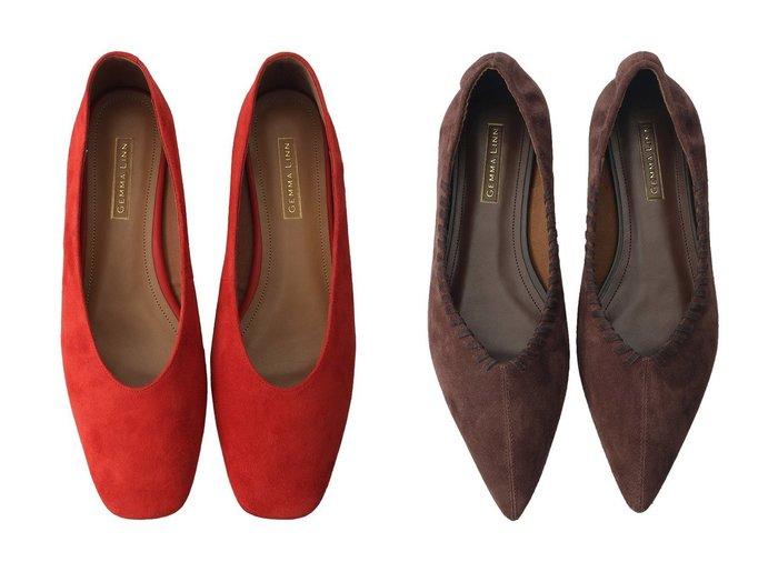【Daniella & GEMMA/ダニエラ アンド ジェマ】のステッチモチーフフラットシューズ&スクエアトゥスエードフラットシューズ Daniella & GEMMAのおすすめ!人気、トレンド・レディースファッションの通販 おすすめファッション通販アイテム レディースファッション・服の通販 founy(ファニー) ファッション Fashion レディースファッション WOMEN 2021年 2021 2021 春夏 S/S SS Spring/Summer 2021 S/S 春夏 SS Spring/Summer シューズ シンプル スエード フラット 春 Spring |ID:crp329100000020495