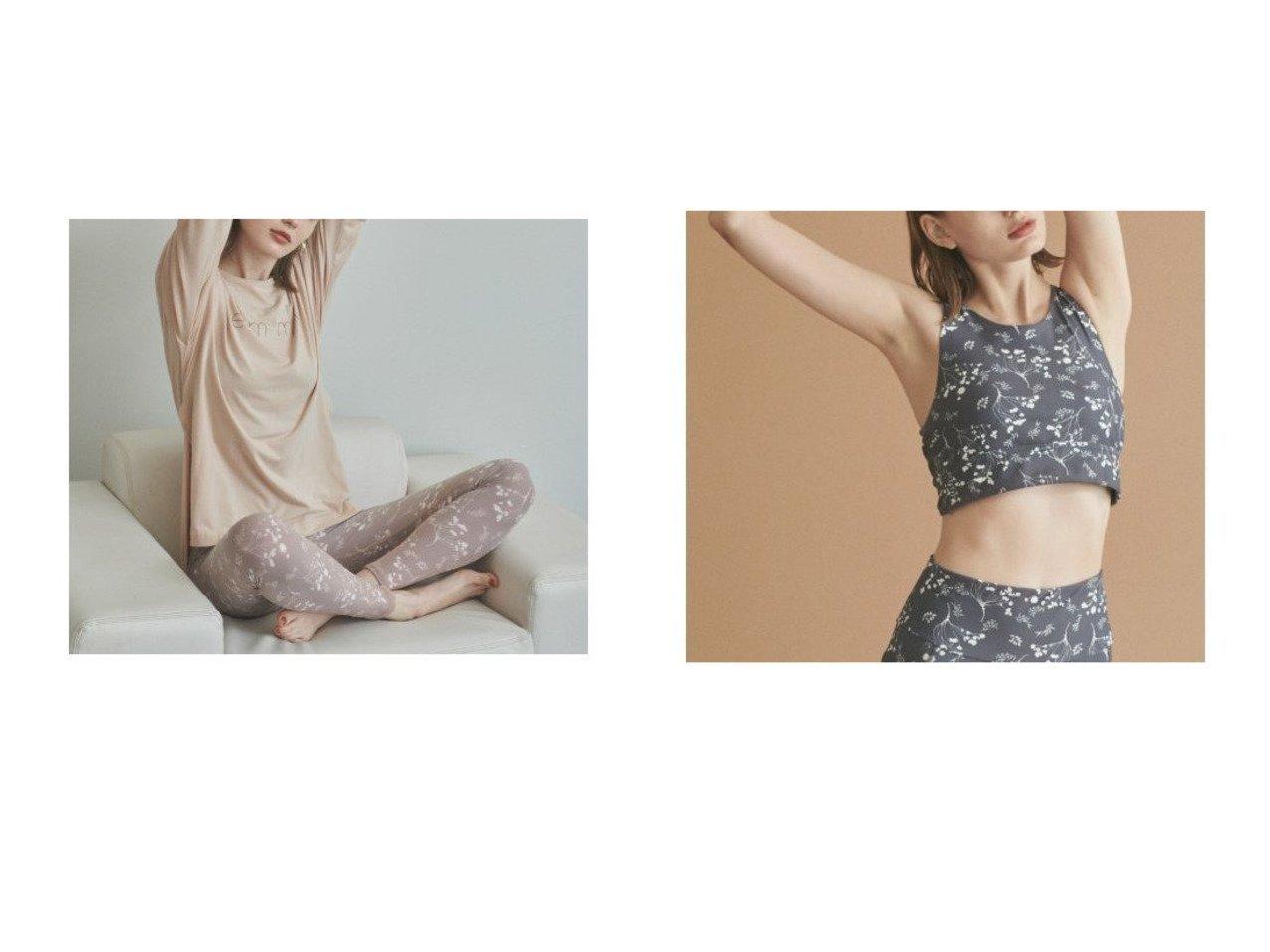 【emmi yoga/エミ ヨガ】の【emmi yoga】ウィンターフラワーブラTOP&【emmi yoga】サスティナロゴS TEE スポーツ・ヨガウェア、運動・ダイエットグッズなどのおすすめ!人気、トレンド・レディースファッションの通販 おすすめで人気の流行・トレンド、ファッションの通販商品 メンズファッション・キッズファッション・インテリア・家具・レディースファッション・服の通販 founy(ファニー) https://founy.com/ ファッション Fashion レディースファッション WOMEN トップス カットソー Tops Tshirt シャツ/ブラウス Shirts Blouses ロング / Tシャツ T-Shirts カットソー Cut and Sewn スポーツウェア Sportswear スポーツ トップス Tops カモフラージュ 吸水 シンプル スマート とろみ ロング 冬 Winter 2020年 2020 2020-2021 秋冬 A/W AW Autumn/Winter / FW Fall-Winter 2020-2021 スポーツ フラワー |ID:crp329100000020506