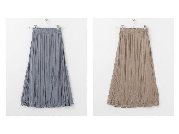 【ITEMS URBAN RESEARCH/アイテムズアーバンリサーチ】のワッシャープリーツスカート URBAN RESEARCHのおすすめ!人気、トレンド・レディースファッションの通販 おすすめファッション通販アイテム レディースファッション・服の通販 founy(ファニー) ファッション Fashion レディースファッション WOMEN スカート Skirt プリーツスカート Pleated Skirts シンプル ポケット |ID:crp329100000020577