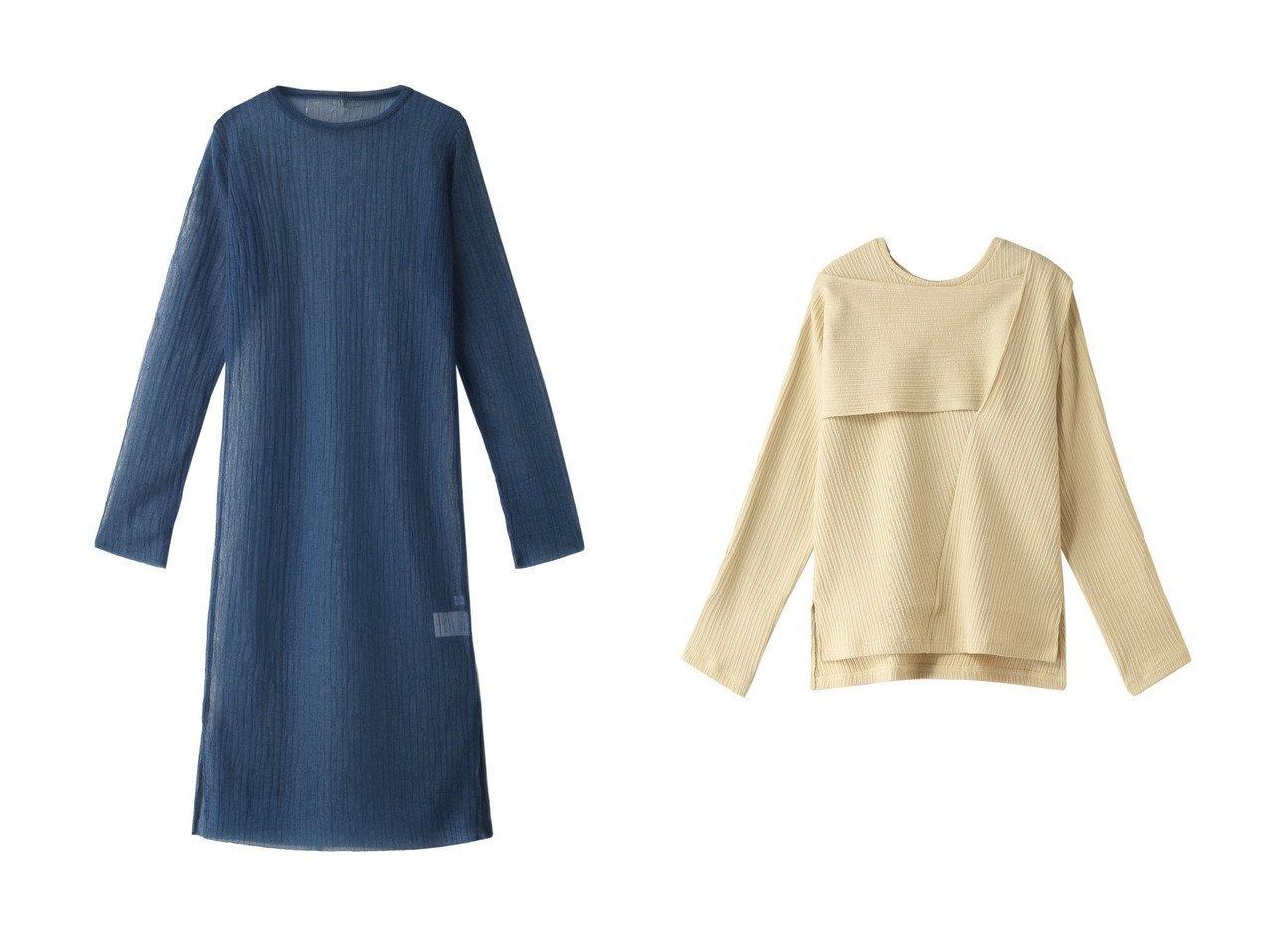 【MAISON SPECIAL/メゾンスペシャル】のクリンプリブトップ&ランダムリブニットワンピース MAISON SPECIALのおすすめ!人気、トレンド・レディースファッションの通販 おすすめで人気の流行・トレンド、ファッションの通販商品 メンズファッション・キッズファッション・インテリア・家具・レディースファッション・服の通販 founy(ファニー) https://founy.com/ ファッション Fashion レディースファッション WOMEN ワンピース Dress ニットワンピース Knit Dresses トップス カットソー Tops Tshirt シャツ/ブラウス Shirts Blouses ロング / Tシャツ T-Shirts カットソー Cut and Sewn 2021年 2021 2021 春夏 S/S SS Spring/Summer 2021 S/S 春夏 SS Spring/Summer シアー シンプル ストライプ ランダム ロング 春 Spring アシメトリー スリーブ ボレロ 長袖 |ID:crp329100000020616