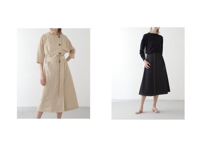 【BOSCH/ボッシュ】のCタイプライターセットアップスカート&Cタイプライターワンピース ボッシュのおすすめ!人気、トレンド・レディースファッションの通販 おすすめファッション通販アイテム レディースファッション・服の通販 founy(ファニー) ファッション Fashion レディースファッション WOMEN ワンピース Dress セットアップ Setup スカート Skirt スクエア スタンダード タイプライター トレンチ フロント エレガント トリプル ラップ |ID:crp329100000020647