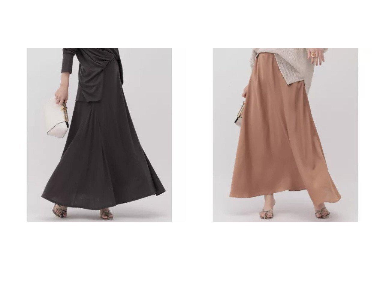 【Chaos/カオス】のジュールサテンフレアースカート&マージミラノカットロングスカート カオスのおすすめ!人気、トレンド・レディースファッションの通販 おすすめで人気の流行・トレンド、ファッションの通販商品 メンズファッション・キッズファッション・インテリア・家具・レディースファッション・服の通販 founy(ファニー) https://founy.com/ ファッション Fashion レディースファッション WOMEN スカート Skirt ロングスカート Long Skirt シルク シンプル パターン マキシ ロング |ID:crp329100000020654