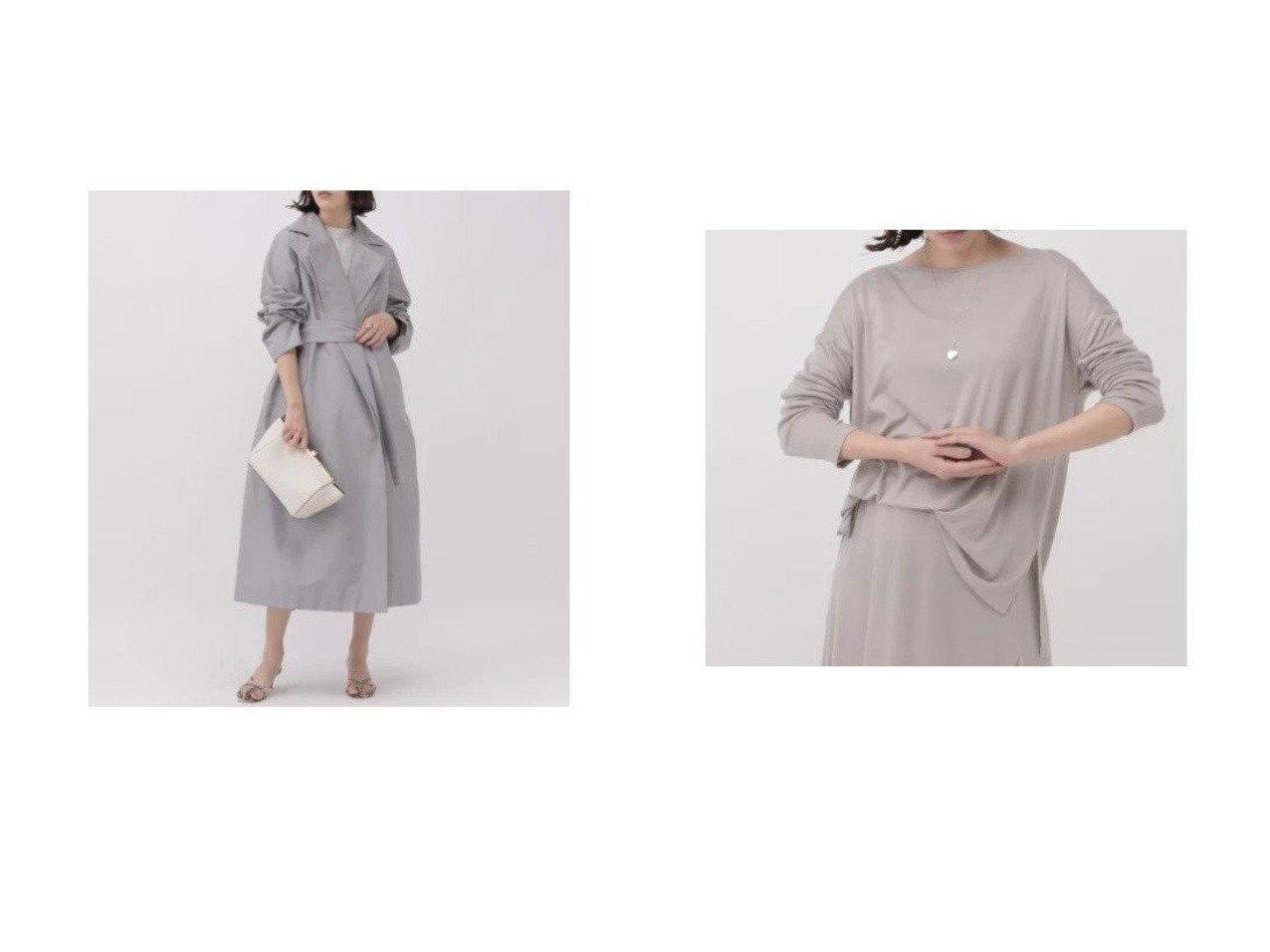 【Chaos/カオス】のアラッシドコート&マージミラノカットプルオーバー カオスのおすすめ!人気、トレンド・レディースファッションの通販 おすすめで人気の流行・トレンド、ファッションの通販商品 メンズファッション・キッズファッション・インテリア・家具・レディースファッション・服の通販 founy(ファニー) https://founy.com/ ファッション Fashion レディースファッション WOMEN アウター Coat Outerwear コート Coats トレンチコート Trench Coats トップス カットソー Tops Tshirt シャツ/ブラウス Shirts Blouses ロング / Tシャツ T-Shirts プルオーバー Pullover カットソー Cut and Sewn ポケット ライナー おすすめ Recommend インナー カットソー ストレッチ セットアップ 長袖 |ID:crp329100000020655
