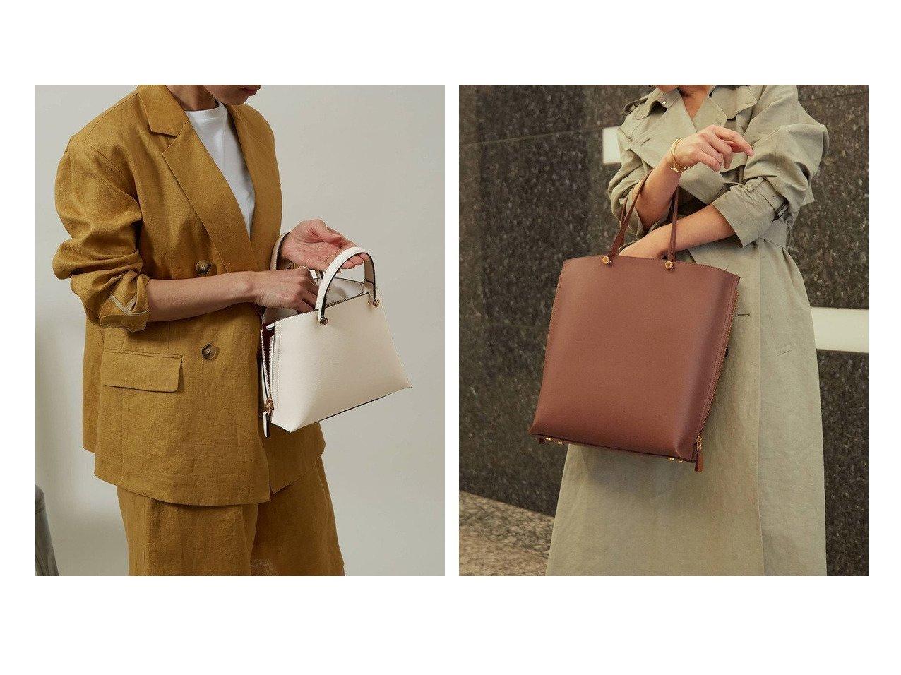 【ROPE'/ロペ】の【E POR】【一部WEB限定】Y bag Mini(サイドジップミニショルダーバッグ)&【E POR】【一部WEB限定】【A4対応】Y bag Large(サイドジップ縦型トートバッグ) ロペのおすすめ!人気、トレンド・レディースファッションの通販 おすすめで人気の流行・トレンド、ファッションの通販商品 メンズファッション・キッズファッション・インテリア・家具・レディースファッション・服の通販 founy(ファニー) https://founy.com/ ファッション Fashion レディースファッション WOMEN バッグ Bag イエロー オレンジ サイドジップ シンプル ハンドバッグ |ID:crp329100000020675