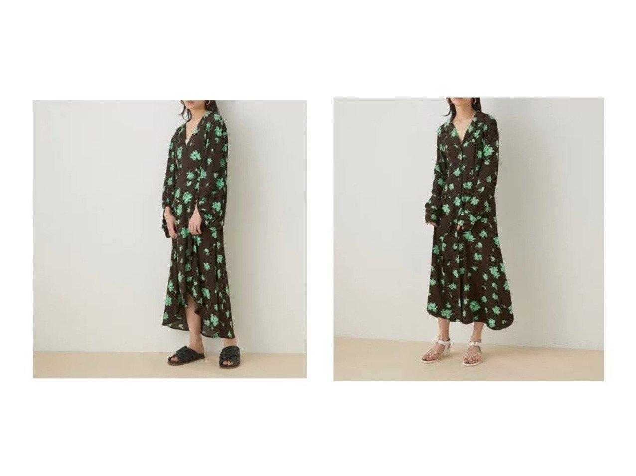 【ADAM ET ROPE'/アダム エ ロペ】の【GANNI】Wrap Dress&【GANNI】Shirt Dress ロペのおすすめ!人気、トレンド・レディースファッションの通販 おすすめで人気の流行・トレンド、ファッションの通販商品 メンズファッション・キッズファッション・インテリア・家具・レディースファッション・服の通販 founy(ファニー) https://founy.com/ ファッション Fashion レディースファッション WOMEN ワンピース Dress ドレス Party Dresses 春 Spring 洗える 軽量 スリット トレンド 長袖 フラワー プリント ベーシック ポケット 羽織 モチーフ |ID:crp329100000020681