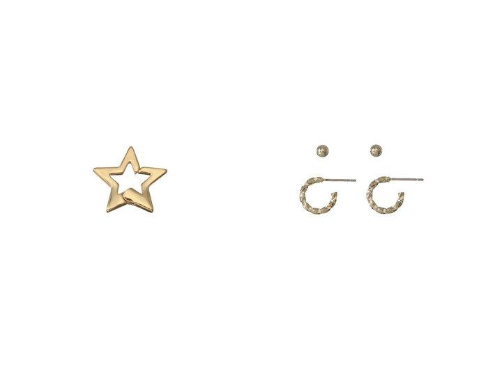 【JET/ジェット】の【JET LOSANGELES】ピアス&【JET LOSANGELES】スターイヤーカフ ジェットのおすすめ!人気、トレンド・レディースファッションの通販 おすすめファッション通販アイテム インテリア・キッズ・メンズ・レディースファッション・服の通販 founy(ファニー) https://founy.com/ ファッション Fashion レディースファッション WOMEN ジュエリー Jewelry リング Rings イヤリング Earrings 2021年 2021 2021 春夏 S/S SS Spring/Summer 2021 S/S 春夏 SS Spring/Summer おすすめ Recommend シンプル セパレート ワンポイント 春 Spring イヤリング イヤーカフ モチーフ 片耳  ID:crp329100000020791