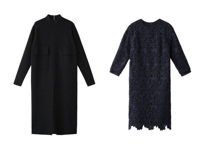 【ADORE/アドーア】のクリアストレッチニットワンピース&チューリップレースワンピース アドーアのおすすめ!人気、トレンド・レディースファッションの通販 おすすめファッション通販アイテム レディースファッション・服の通販 founy(ファニー) ファッション Fashion レディースファッション WOMEN ワンピース Dress ニットワンピース Knit Dresses 2021年 2021 2021 春夏 S/S SS Spring/Summer 2021 S/S 春夏 SS Spring/Summer カーディガン ガーリー ジャケット スカラップ フェミニン レース 春 Spring |ID:crp329100000020844