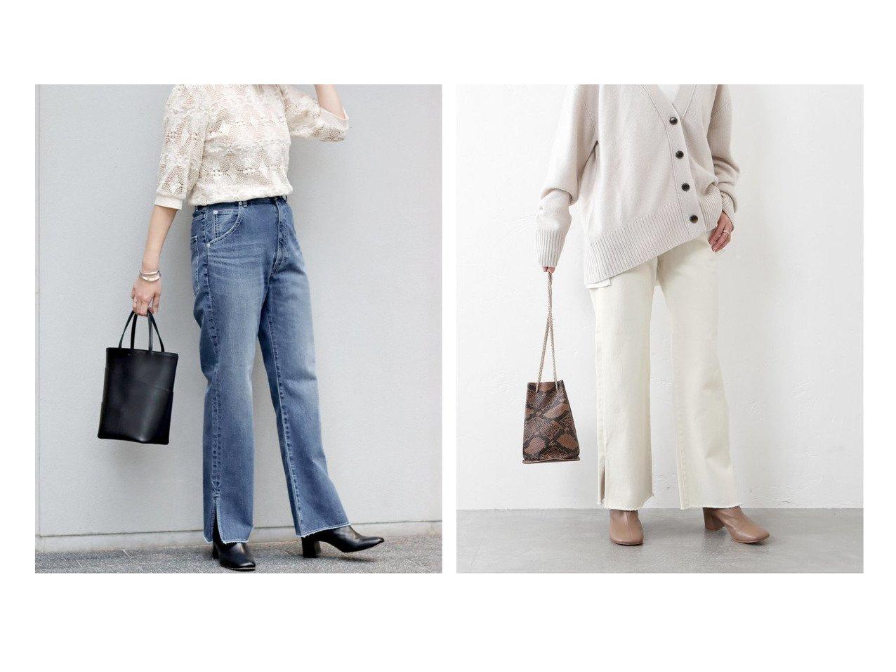 【JOURNAL STANDARD/ジャーナルスタンダード】のサイドスリットデニムパンツ ジャーナルスタンダードのおすすめ!人気、トレンド・レディースファッションの通販  おすすめで人気の流行・トレンド、ファッションの通販商品 メンズファッション・キッズファッション・インテリア・家具・レディースファッション・服の通販 founy(ファニー) https://founy.com/ ファッション Fashion レディースファッション WOMEN パンツ Pants デニムパンツ Denim Pants 2020年 2020 2020-2021 秋冬 A/W AW Autumn/Winter / FW Fall-Winter 2020-2021 A/W 秋冬 AW Autumn/Winter / FW Fall-Winter ギャザー スリット スリム デニム トレンド フリル レース ロマンティック |ID:crp329100000020904