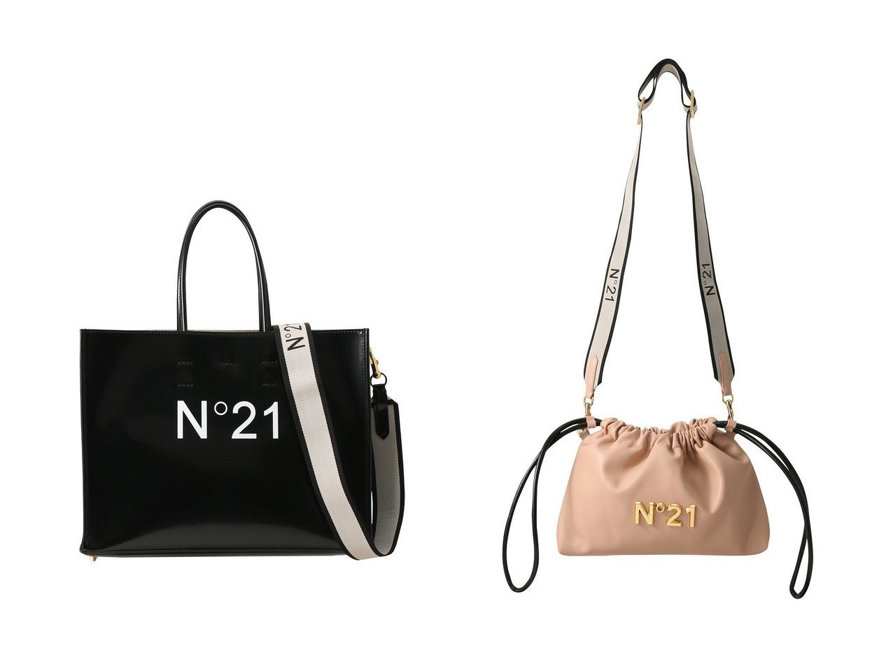 【N°21/ヌメロ ヴェントゥーノ】のCoulisse Eva バッグ&ロゴショッピングショルダーバッグ N°21 ヌメロ ヴェントゥーノのおすすめ!人気、トレンド・レディースファッションの通販 おすすめで人気の流行・トレンド、ファッションの通販商品 メンズファッション・キッズファッション・インテリア・家具・レディースファッション・服の通販 founy(ファニー) https://founy.com/ ファッション Fashion レディースファッション WOMEN バッグ Bag 2021年 2021 2021 春夏 S/S SS Spring/Summer 2021 S/S 春夏 SS Spring/Summer シンプル スポーティ メタル 巾着 春 Spring |ID:crp329100000020919