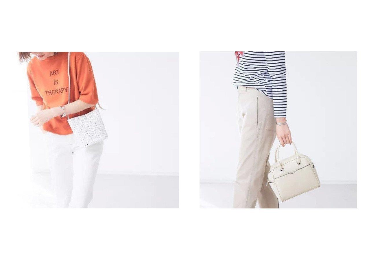 【Rouge vif/ルージュ ヴィフ】の【Avancer】インナーポーチ付き/メッシュショルダーバッグ&【Avancer】ショルダー付きミニボストンバッグ ルージュ ヴィフのおすすめ!人気、トレンド・レディースファッションの通販  おすすめで人気の流行・トレンド、ファッションの通販商品 メンズファッション・キッズファッション・インテリア・家具・レディースファッション・服の通販 founy(ファニー) https://founy.com/ ファッション Fashion レディースファッション WOMEN バッグ Bag ポーチ Pouches ショルダー シンプル スクエア トレンド ボストンバッグ ポケット マグネット インナー スカーフ ポーチ メッシュ |ID:crp329100000020964