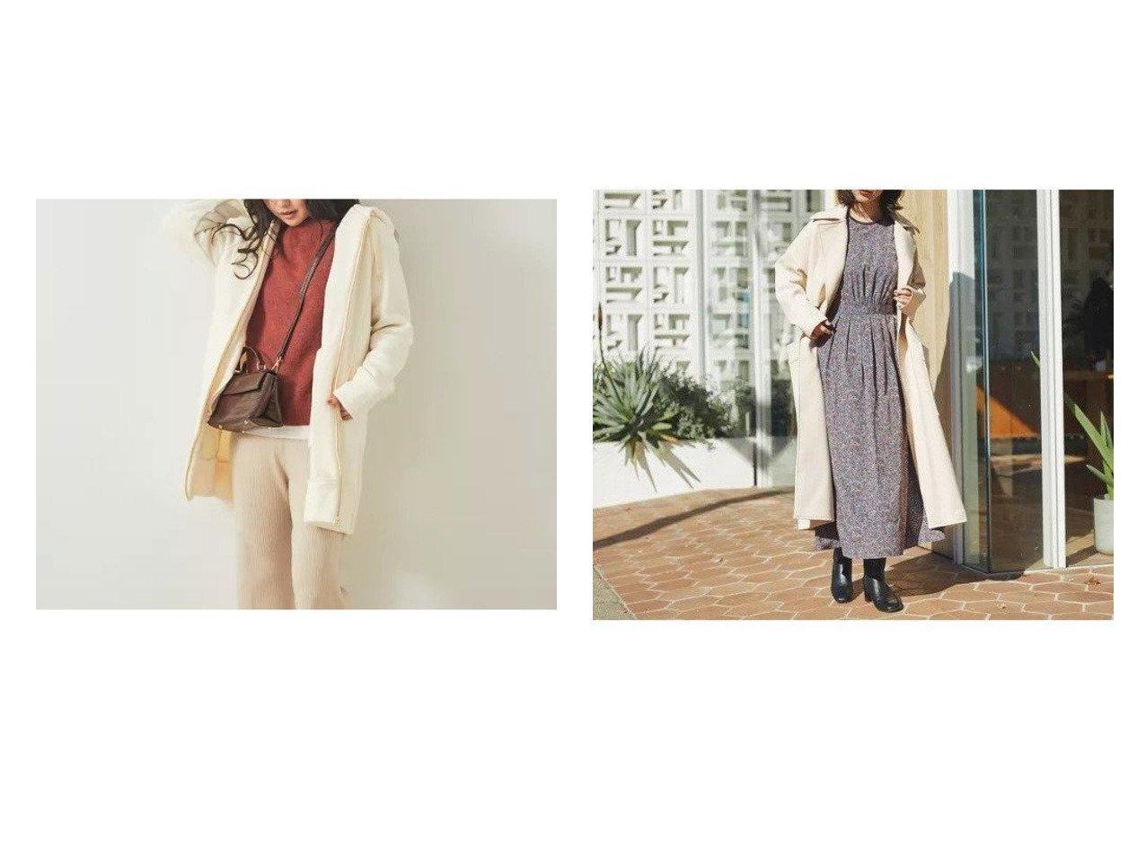 【Rouge vif/ルージュ ヴィフ】のジャージーコート&【Mylanka】ロングフーディーパーカー ルージュ ヴィフのおすすめ!人気、トレンド・レディースファッションの通販  おすすめで人気の流行・トレンド、ファッションの通販商品 メンズファッション・キッズファッション・インテリア・家具・レディースファッション・服の通販 founy(ファニー) https://founy.com/ ファッション Fashion レディースファッション WOMEN アウター Coat Outerwear コート Coats トレンチコート Trench Coats トップス カットソー Tops Tshirt パーカ Sweats スウェット Sweat エアリー ジャージー 冬 Winter 春 Spring ジップ スウェット トレンド パーカー |ID:crp329100000020969
