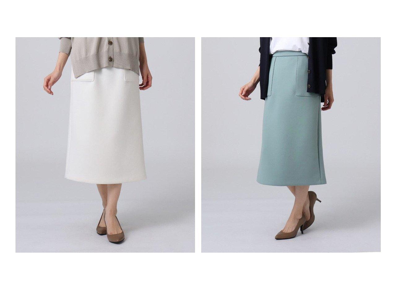 【UNTITLED/アンタイトル】のエアクッションジャージタイトスカート アンタイトルのおすすめ!人気、トレンド・レディースファッションの通販  おすすめで人気の流行・トレンド、ファッションの通販商品 メンズファッション・キッズファッション・インテリア・家具・レディースファッション・服の通販 founy(ファニー) https://founy.com/ ファッション Fashion レディースファッション WOMEN スカート Skirt Aライン/フレアスカート Flared A-Line Skirts おすすめ Recommend インナー クッション シンプル フィット ポケット 再入荷 Restock/Back in Stock/Re Arrival |ID:crp329100000020975