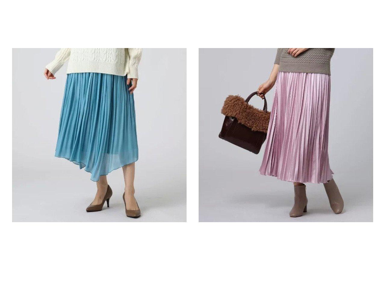 【UNTITLED/アンタイトル】の【洗える】チンツバルブサテンプリーツスカート&【洗える】ルーチェシャイニークロスギャザースカート アンタイトルのおすすめ!人気、トレンド・レディースファッションの通販  おすすめで人気の流行・トレンド、ファッションの通販商品 メンズファッション・キッズファッション・インテリア・家具・レディースファッション・服の通販 founy(ファニー) https://founy.com/ ファッション Fashion レディースファッション WOMEN スカート Skirt プリーツスカート Pleated Skirts おすすめ Recommend インナー エレガント ギャザー ポケット 洗える |ID:crp329100000020981