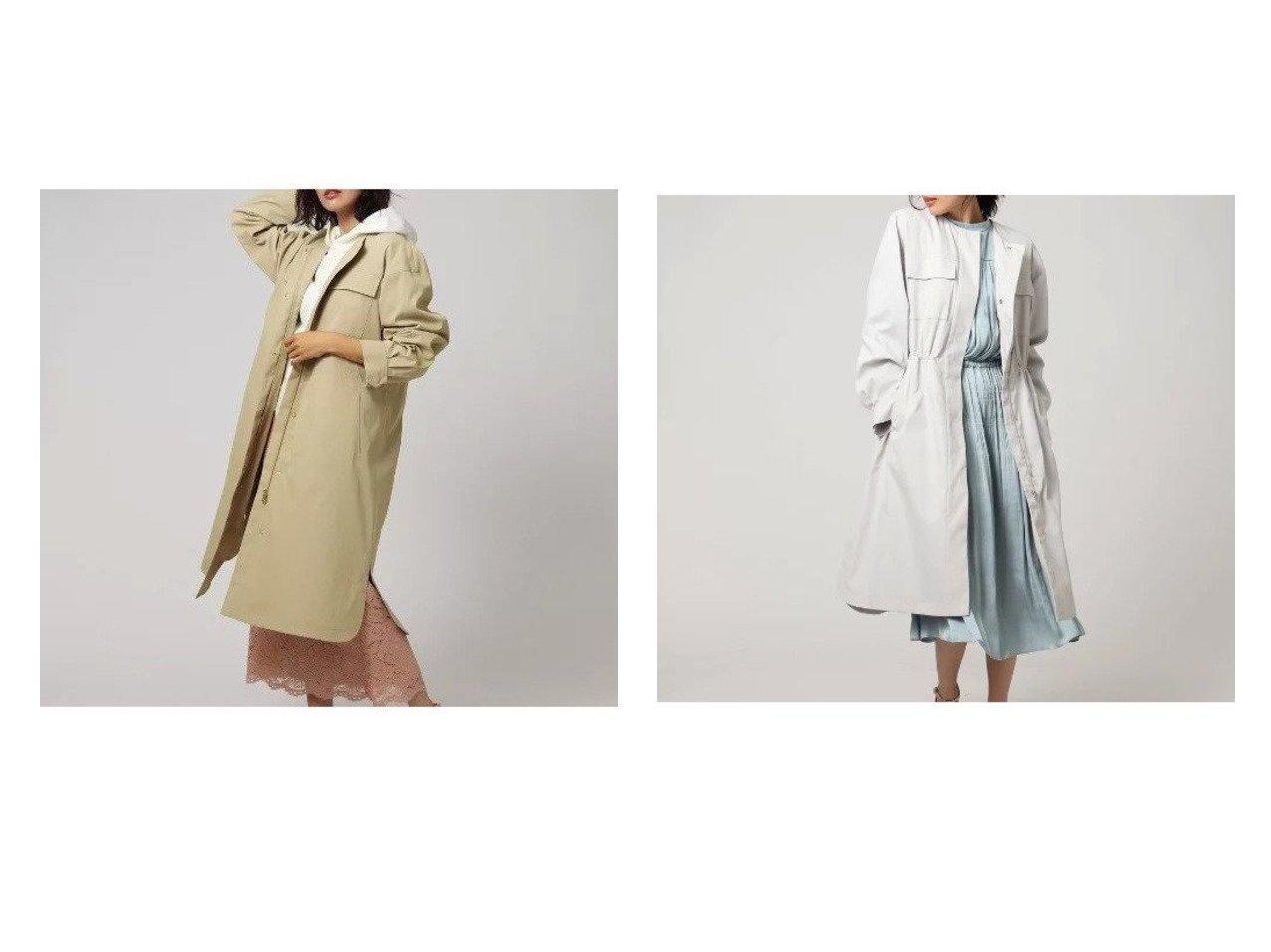 【UNTITLED/アンタイトル】のブリーゼドライストレッチコート アンタイトルのおすすめ!人気、トレンド・レディースファッションの通販  おすすめで人気の流行・トレンド、ファッションの通販商品 メンズファッション・キッズファッション・インテリア・家具・レディースファッション・服の通販 founy(ファニー) https://founy.com/ ファッション Fashion レディースファッション WOMEN アウター Coat Outerwear コート Coats 春 Spring キルト 軽量 スリット タンブラー トレンド ポケット ライナー ロング おすすめ Recommend |ID:crp329100000020985