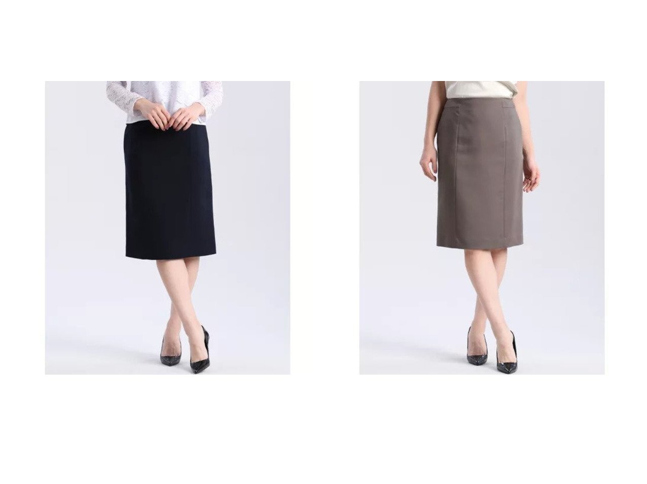 【CLEAR IMPRESSION/クリアインプレッション】の《洗えるセットアップ》ナノテックスタイトスカート&《洗えるセットアップ》リヨセルシャンブレータイトスカート クリア インプレッションのおすすめ!人気、トレンド・レディースファッションの通販  おすすめで人気の流行・トレンド、ファッションの通販商品 メンズファッション・キッズファッション・インテリア・家具・レディースファッション・服の通販 founy(ファニー) https://founy.com/ ファッション Fashion レディースファッション WOMEN セットアップ Setup スカート Skirt ジャケット セットアップ タイトスカート 定番 Standard 洗える |ID:crp329100000021073