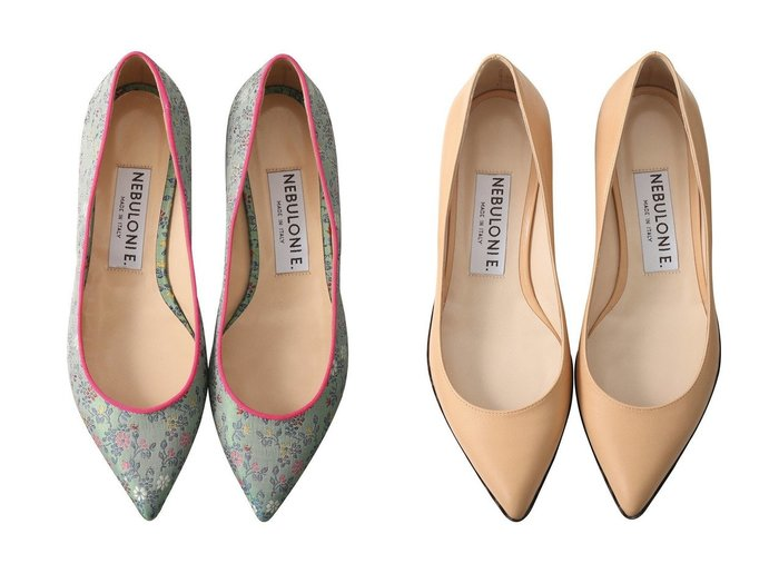 【NEBULONI E/ネブローニ】の【ELLE SHOP限定】MACA フラワージャカードフラットシューズ&MACA スカラップソールフラットシューズ ネブローニのおすすめ!人気、トレンド・レディースファッションの通販  おすすめファッション通販アイテム レディースファッション・服の通販 founy(ファニー) ファッション Fashion レディースファッション WOMEN 2021年 2021 2021 春夏 S/S SS Spring/Summer 2021 S/S 春夏 SS Spring/Summer シューズ シンプル スカラップ フォルム フラット 春 Spring |ID:crp329100000021130