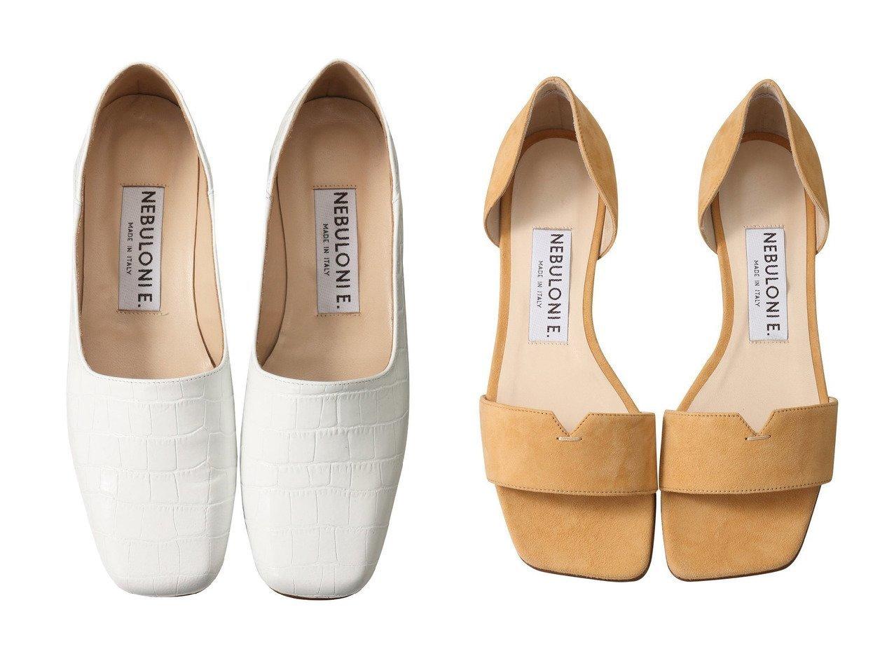 【NEBULONI E/ネブローニ】のクロコ型押し2wayスリッポン&GLAM スエードフラットサンダル ネブローニのおすすめ!人気、トレンド・レディースファッションの通販  おすすめで人気の流行・トレンド、ファッションの通販商品 メンズファッション・キッズファッション・インテリア・家具・レディースファッション・服の通販 founy(ファニー) https://founy.com/ ファッション Fashion レディースファッション WOMEN 2021年 2021 2021 春夏 S/S SS Spring/Summer 2021 S/S 春夏 SS Spring/Summer クロコ シューズ シンプル スリッパ スリッポン フラット 春 Spring |ID:crp329100000021132