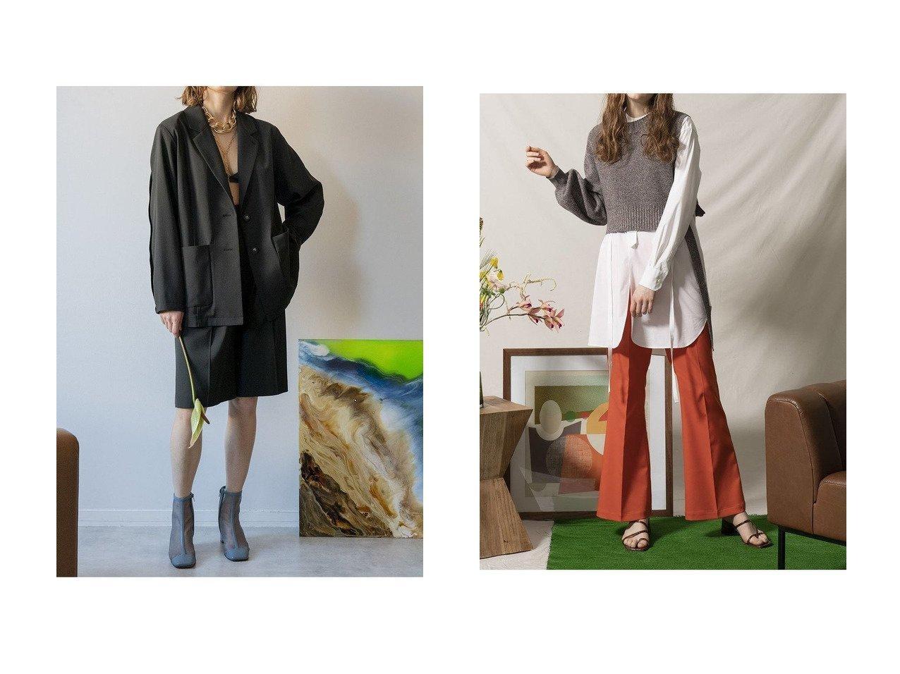 【MAISON SPECIAL/メゾンスペシャル】のアシンメトリースリーブニット&アウトシームジャケット メゾンスペシャルのおすすめ!人気、トレンド・レディースファッションの通販  おすすめで人気の流行・トレンド、ファッションの通販商品 メンズファッション・キッズファッション・インテリア・家具・レディースファッション・服の通販 founy(ファニー) https://founy.com/ ファッション Fashion レディースファッション WOMEN トップス カットソー Tops Tshirt ニット Knit Tops プルオーバー Pullover アウター Coat Outerwear ジャケット Jackets アシンメトリー 春 Spring カットソー クール ショート スリーブ フィット ボトルネック リボン 2021年 2021 S/S 春夏 SS Spring/Summer 2021 春夏 S/S SS Spring/Summer 2021 おすすめ Recommend クラシック ジャケット ストライプ ダウン ポケット マニッシュ |ID:crp329100000021136