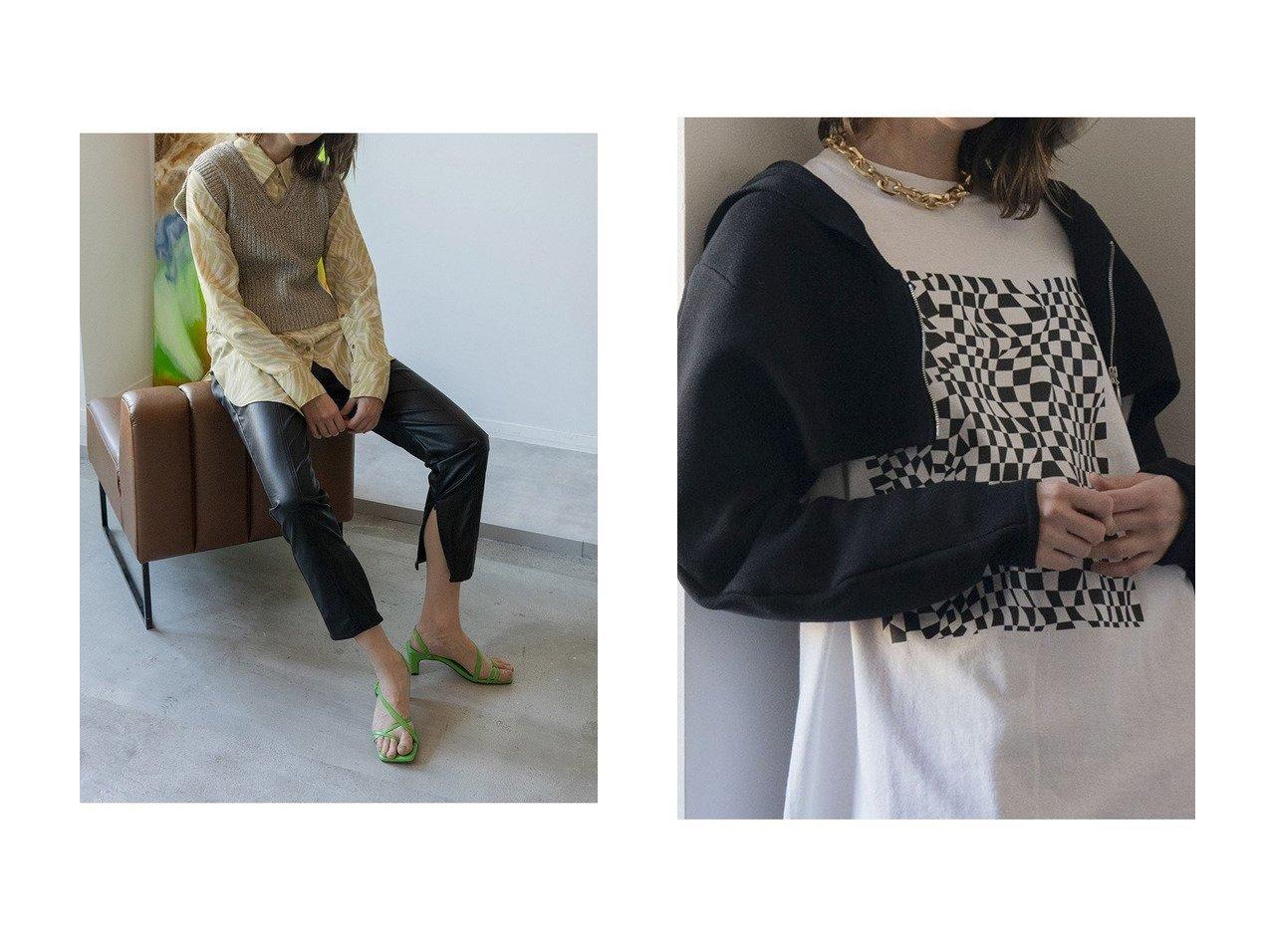 【MAISON SPECIAL/メゾンスペシャル】のセーラーニットボレロ&ニットベストレイヤードシャツ メゾンスペシャルのおすすめ!人気、トレンド・レディースファッションの通販  おすすめで人気の流行・トレンド、ファッションの通販商品 メンズファッション・キッズファッション・インテリア・家具・レディースファッション・服の通販 founy(ファニー) https://founy.com/ ファッション Fashion レディースファッション WOMEN トップス カットソー Tops Tshirt ニット Knit Tops シャツ/ブラウス Shirts Blouses ベスト/ジレ Gilets Vests プルオーバー Pullover カーディガン Cardigans オーガンジー 春 Spring シアー スリット スリーブ センター ベスト ミドル メランジ リラックス ロング 2021年 2021 S/S 春夏 SS Spring/Summer 2021 春夏 S/S SS Spring/Summer 2021 カーディガン ジップ ボレロ |ID:crp329100000021138